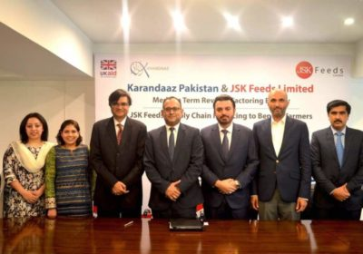JSK Feeds and Karandaaz Signed Medium Term Reverse Factoring Facility