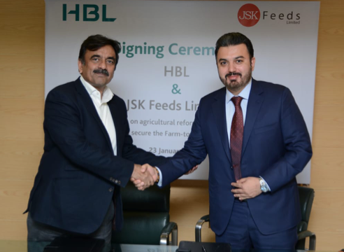 JSK FEEDS LTD. COLLABORATES WITH HBL ON ITS AGRICULTURE REFORM INTERVENTIONS FOR MAIZE PRODUCTION IN PAKISTAN